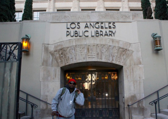 Slight Charm LA Library Rat