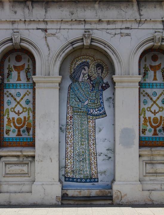 Slight Charm Fremantle Religious Graffiti
