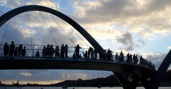 Slight Charm Quay Footbridge 4