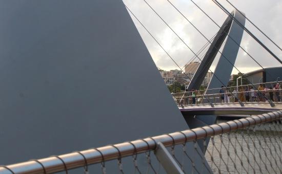 Slight Charm Quay Footbridge 2