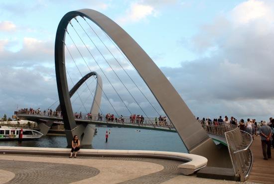 Slight Charm Quay Footbridge 1