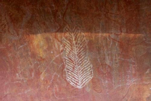 Slight Charm Uluru Painting
