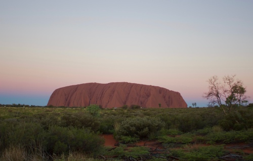 Slight Charm Uluru Sunrise